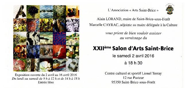 Invitation Saint Brice